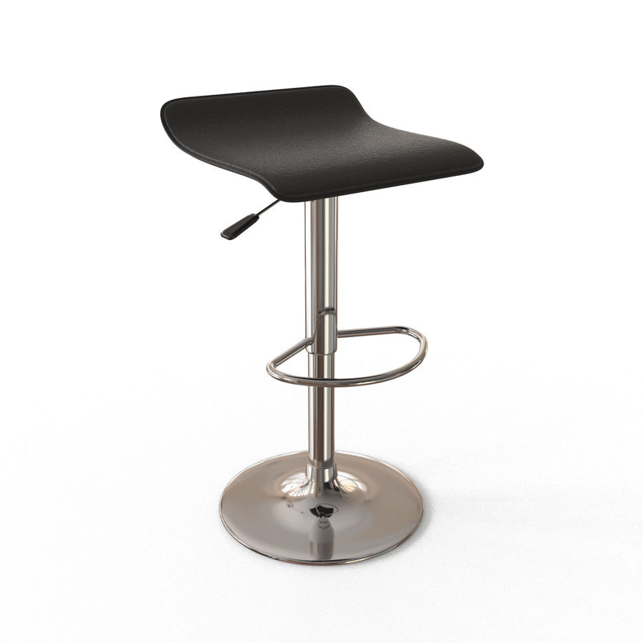 Chair Bar Stool royalty-free 3d model - Preview no. 1