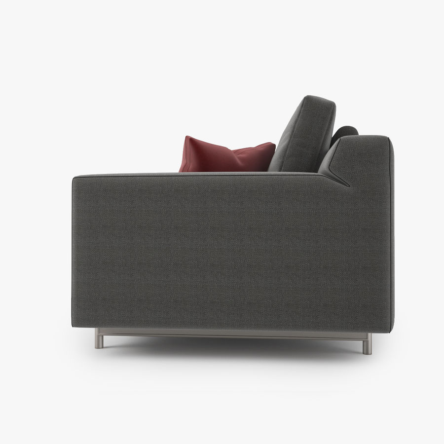 Busnelli Taylor fauteuil royalty-free 3d model - Preview no. 2