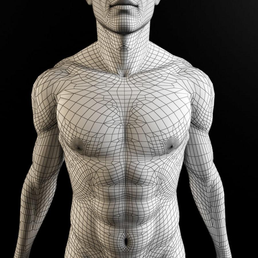 Serce i ciało royalty-free 3d model - Preview no. 5