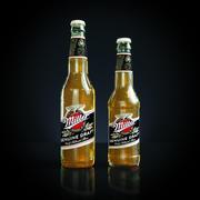 Miller beer 3d model