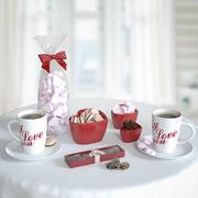 ロマンチックな朝食セット2 3d model