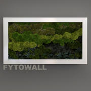 Fytowall with stone 3d model