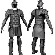 Gladiator-Rüstung 3d model