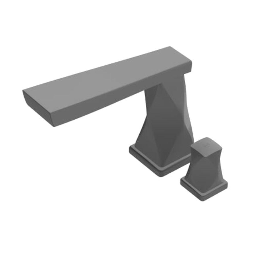 kran łazienka kran nowoczesny współczesny royalty-free 3d model - Preview no. 2