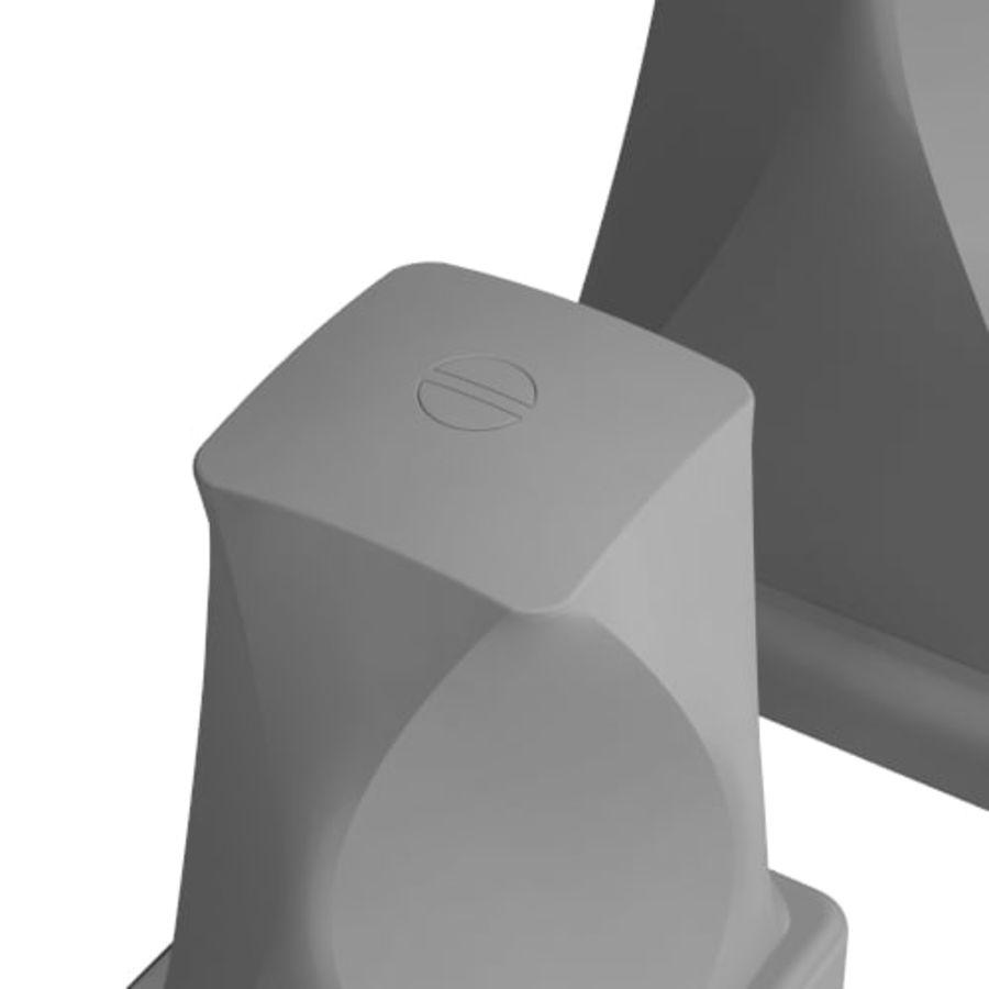 kran łazienka kran nowoczesny współczesny royalty-free 3d model - Preview no. 3