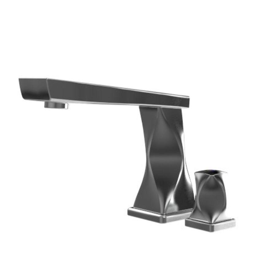 kran łazienka kran nowoczesny współczesny royalty-free 3d model - Preview no. 1