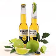 Corona Extra Bier 3d model