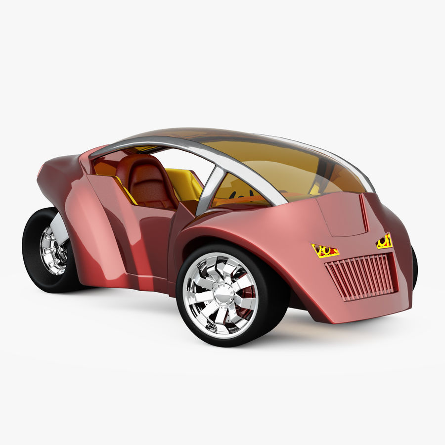 Concept Vehicles royalty-free 3d model - Preview no. 1
