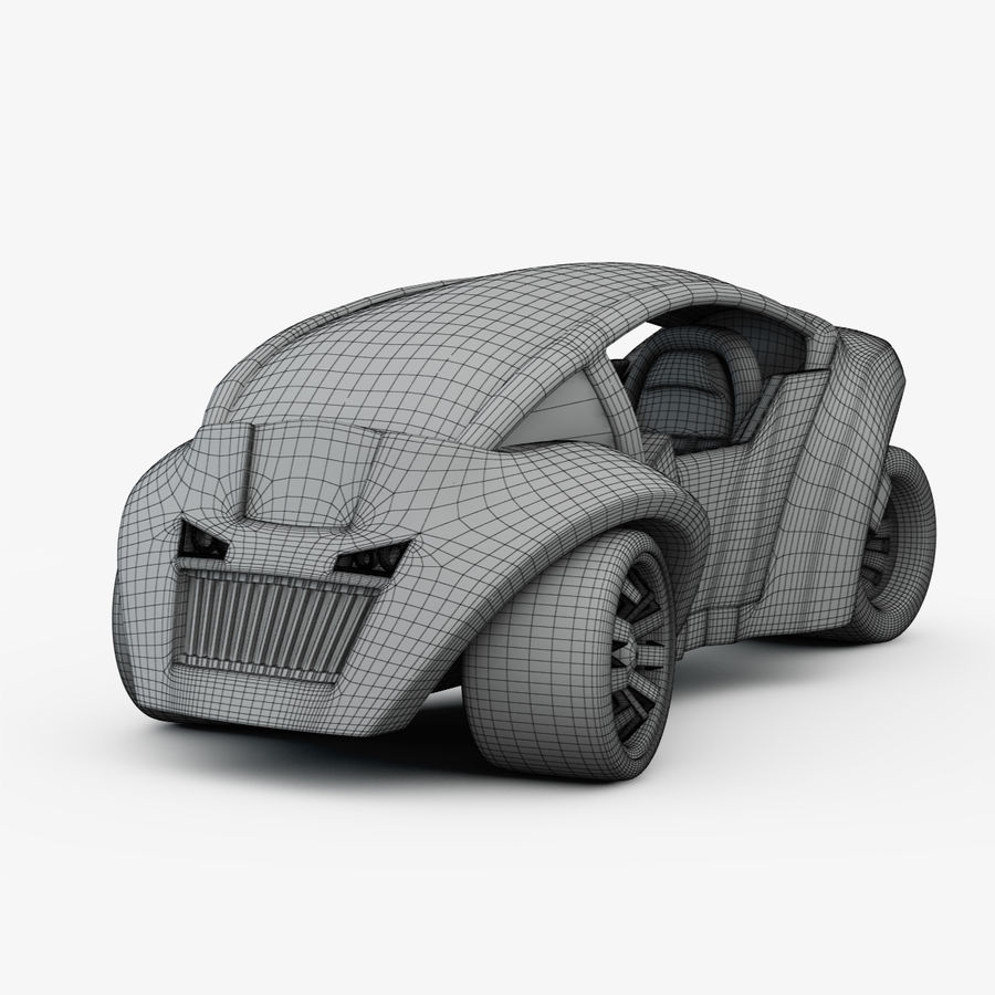 Concept Vehicles royalty-free 3d model - Preview no. 4