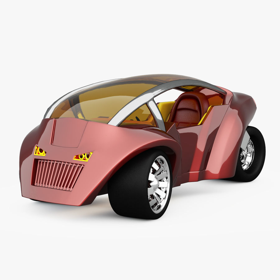 Concept Vehicles royalty-free 3d model - Preview no. 2