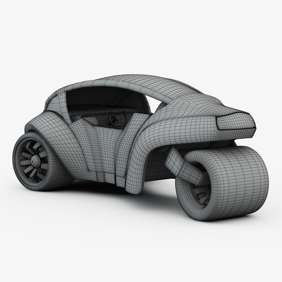 Concept Vehicles royalty-free 3d model - Preview no. 5