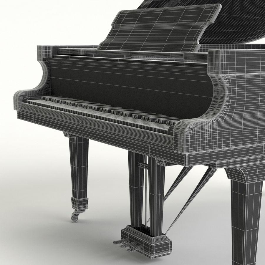Flygel royalty-free 3d model - Preview no. 6