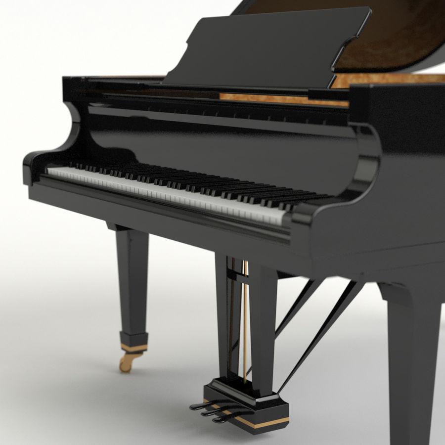 Flygel royalty-free 3d model - Preview no. 5