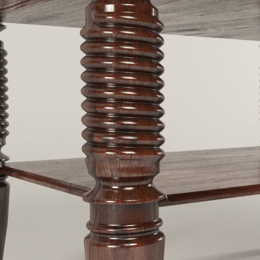 bedside table Larry Deco royalty-free 3d model - Preview no. 5