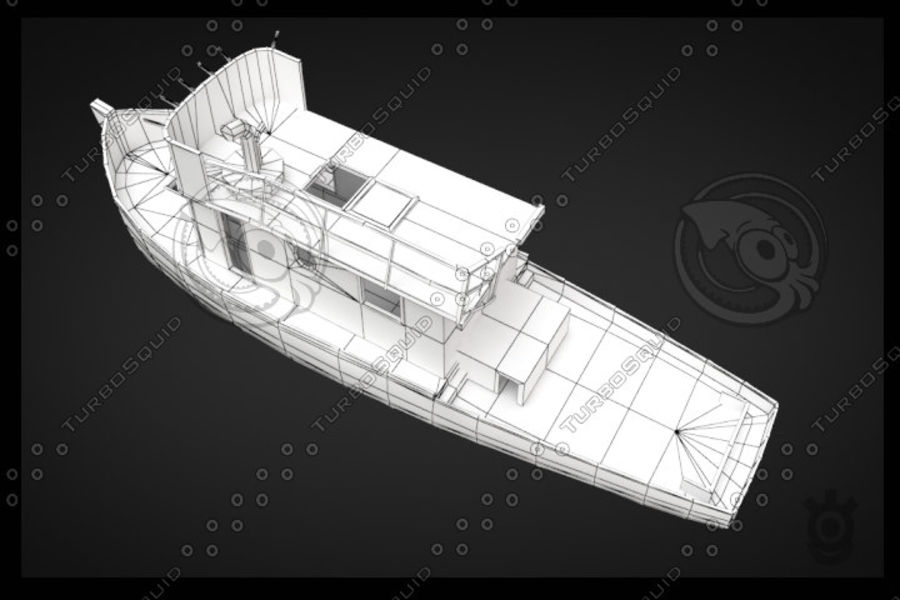 Boot royalty-free 3d model - Preview no. 6
