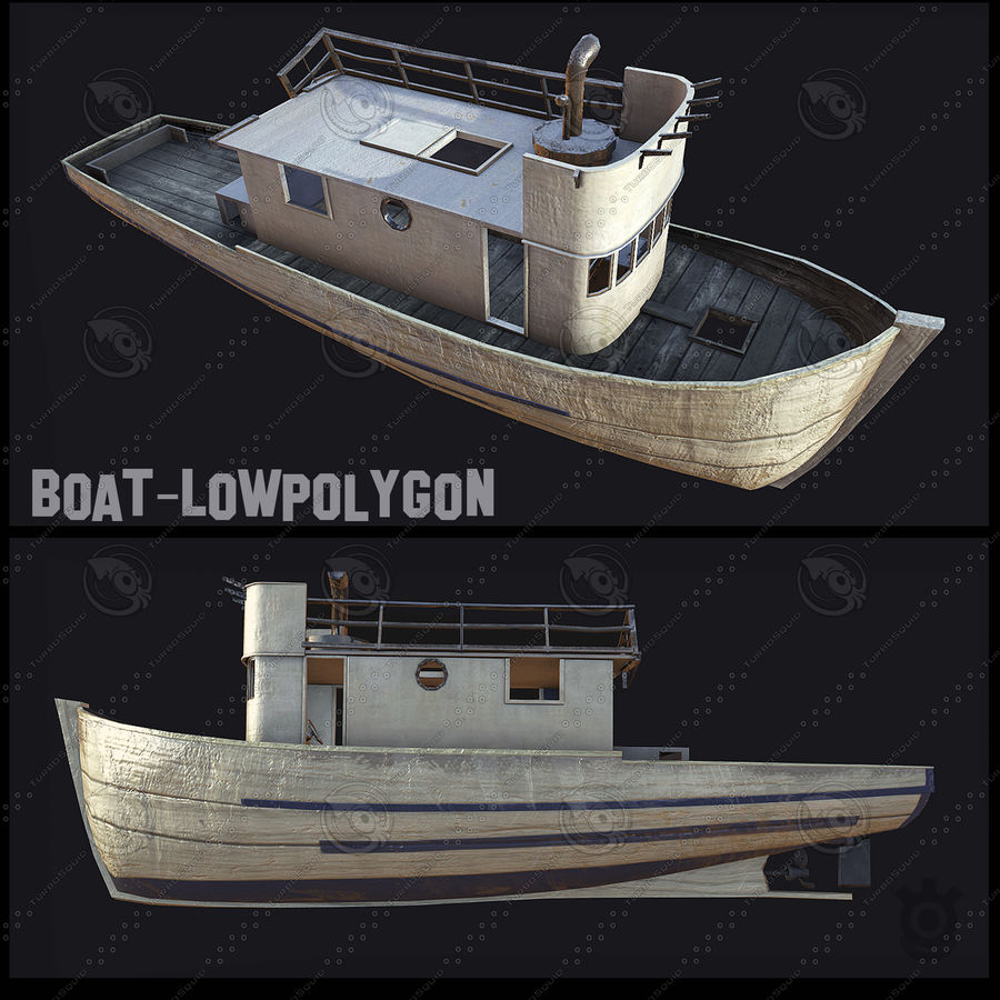 Boot royalty-free 3d model - Preview no. 2