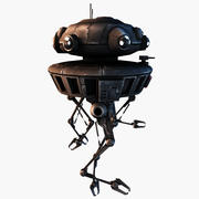 Sonda Droid 3d model