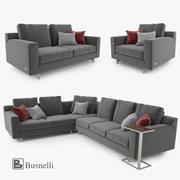 Busnelli Taylor bankstel 3d model