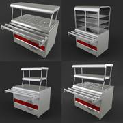 equipment for cafes 3d model