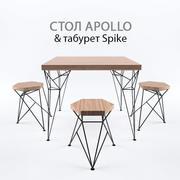 apollo&spike 3d model