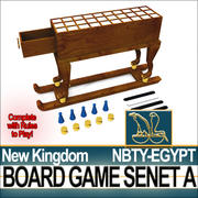 Ancient Egypt NK Bordspel Senet A 3d model