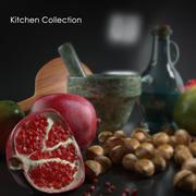 음식 모음 3d model