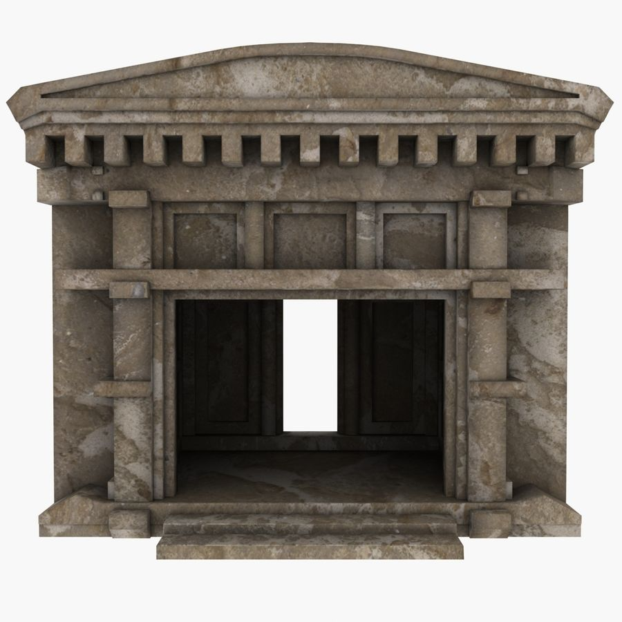 Cave Entrace royalty-free 3d model - Preview no. 1