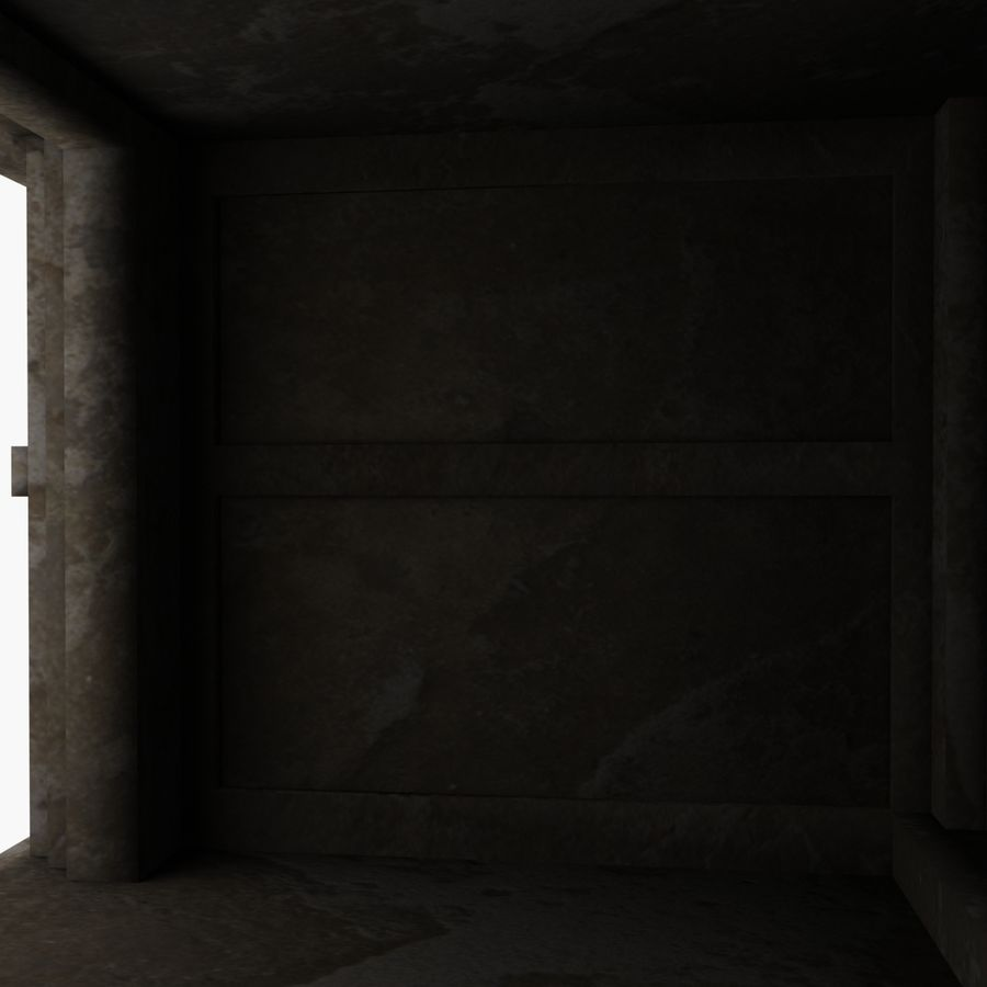 Cave Entrace royalty-free 3d model - Preview no. 8