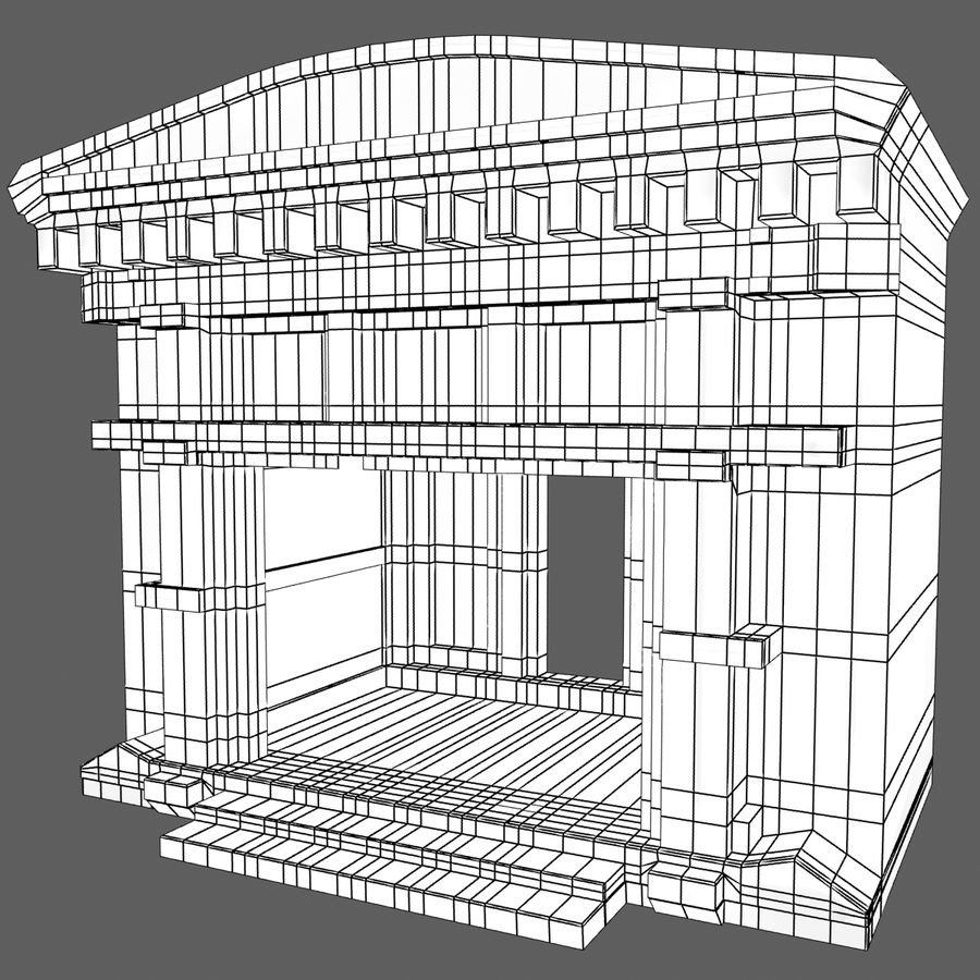 Cave Entrace royalty-free 3d model - Preview no. 11