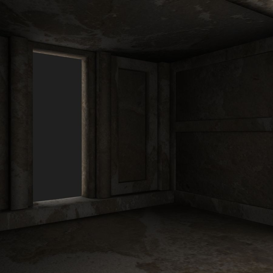 Cave Entrace royalty-free 3d model - Preview no. 9