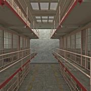 Bloc cellulaire Alcatraz 3d model