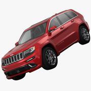 Jeep Grand Cherokee SRT 2015 3d model