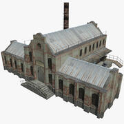 Ancienne usine 3d model