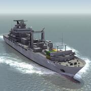 Replenishment Ship 3d model