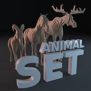 Kontur Tiere 3d model