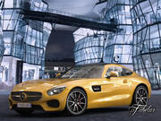 Tappetino Mercedes AMG GT std 3d model