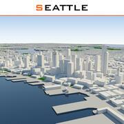Seattle City Complete 3d model