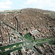马德里市中心 3d model