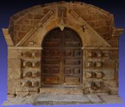 AD-3D_Pradelles_Door_France 3d model