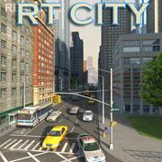 MANHATTAN Style Metropolis 3d model