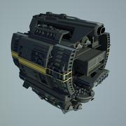 Base Spaceship 3d model