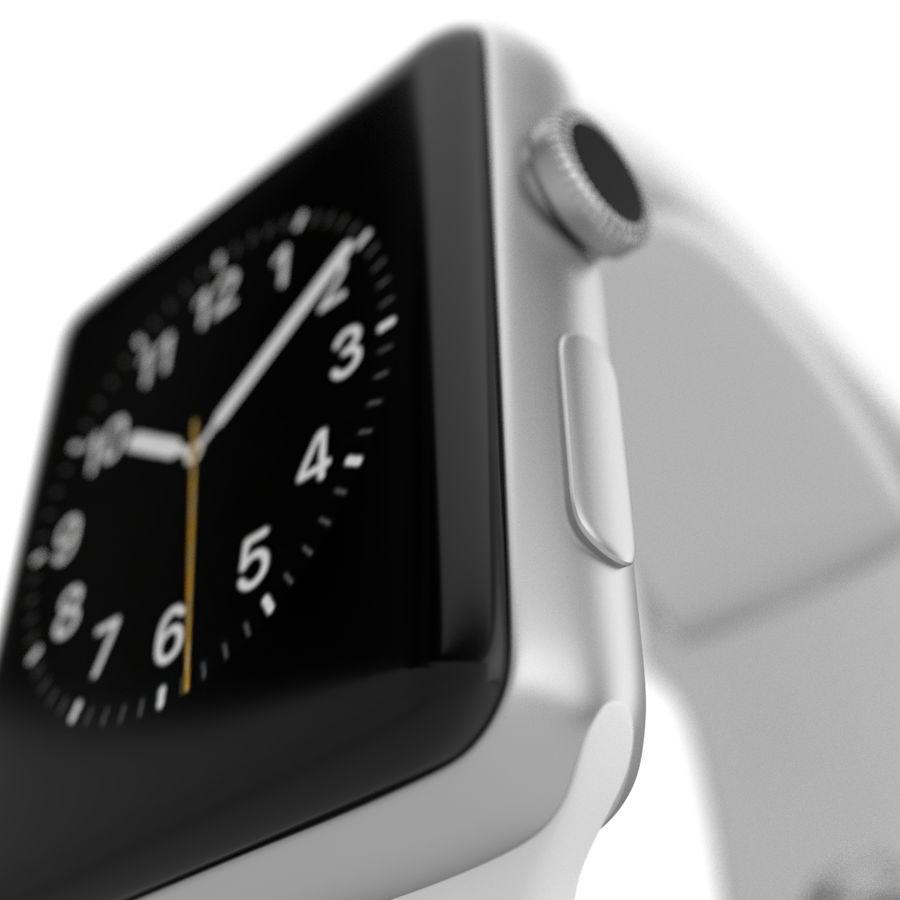 яблочные часы спорт royalty-free 3d model - Preview no. 2
