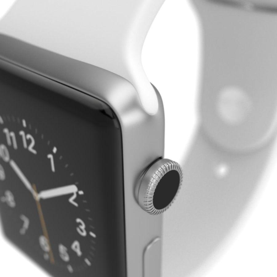 яблочные часы спорт royalty-free 3d model - Preview no. 1