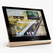 Lenovo Yoga Tablet 10 HD Golden 3d model