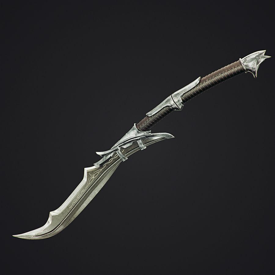 Schwert royalty-free 3d model - Preview no. 4