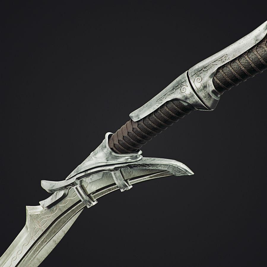 Schwert royalty-free 3d model - Preview no. 3