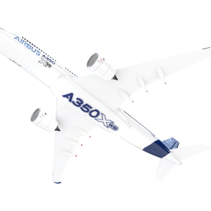 A350 Airbus Prezzo scontato. royalty-free 3d model - Preview no. 5