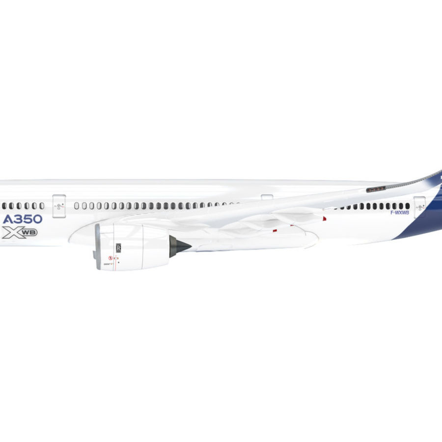 A350 Airbus Prezzo scontato. royalty-free 3d model - Preview no. 4