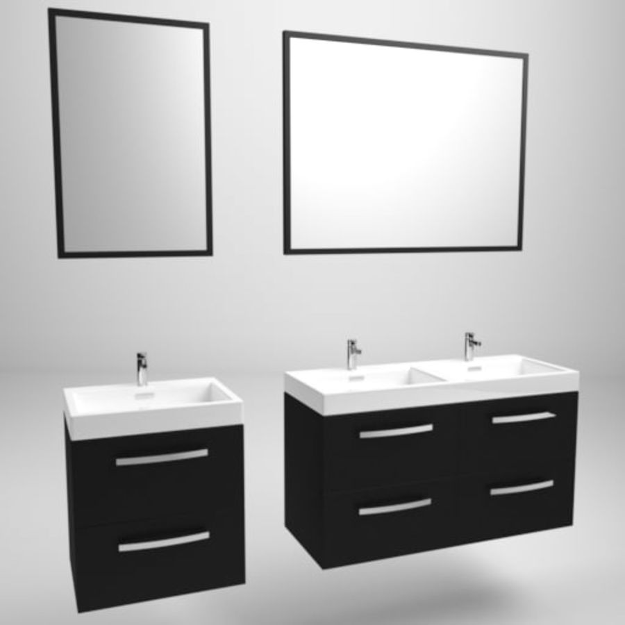 Sink Architech royalty-free 3d model - Preview no. 1