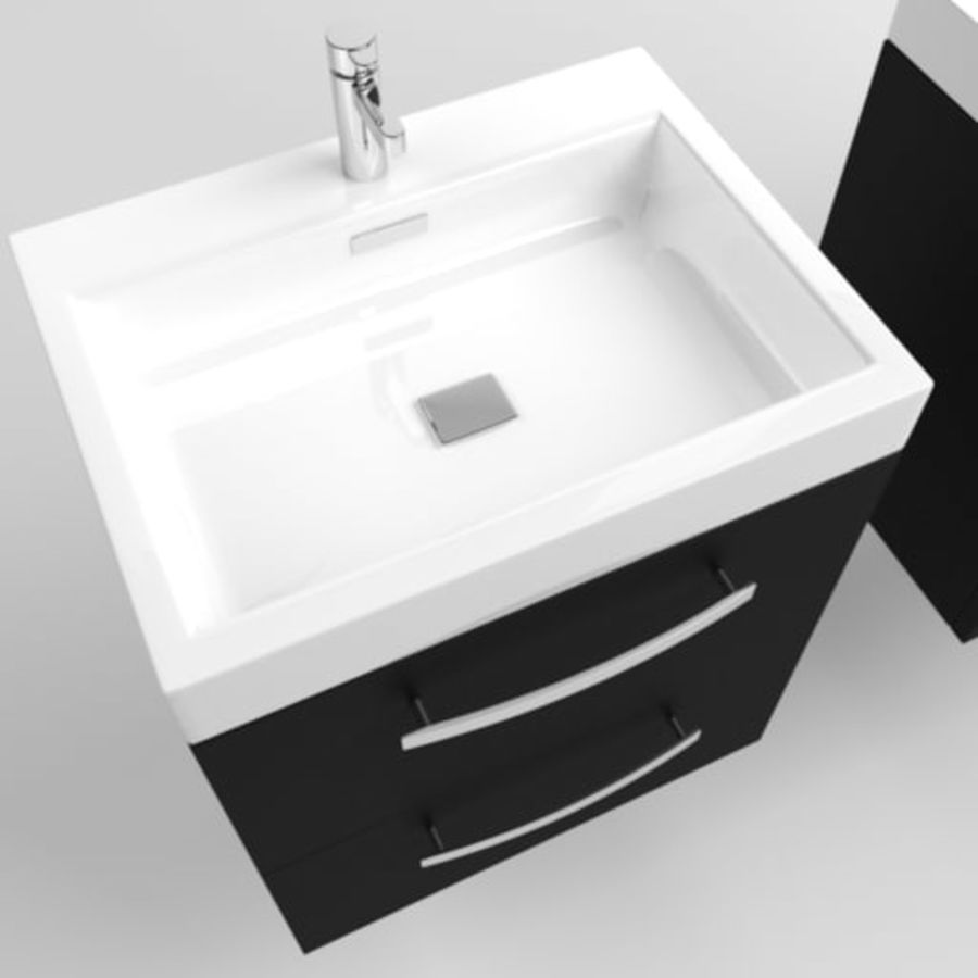 Sink Architech royalty-free 3d model - Preview no. 2